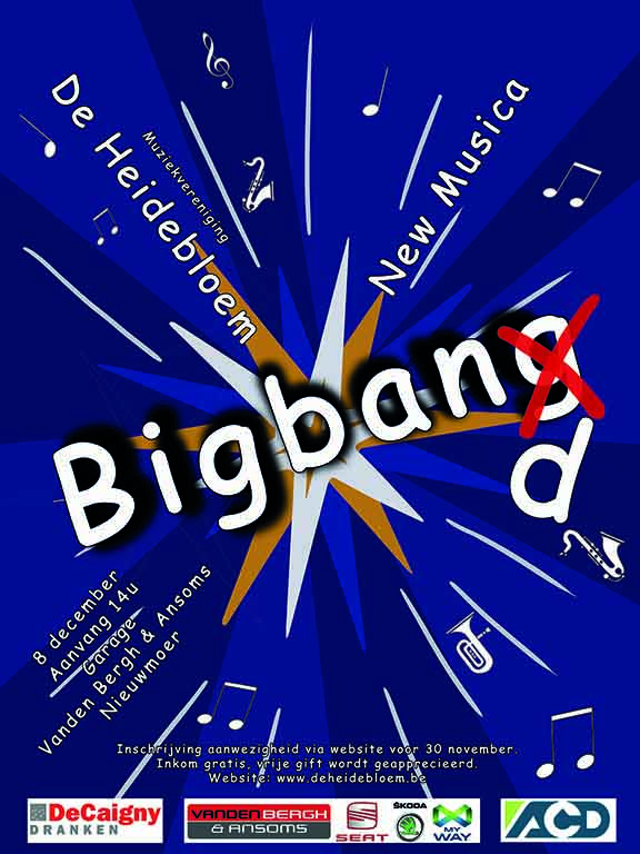 2019 - Bigband Introductie Concert